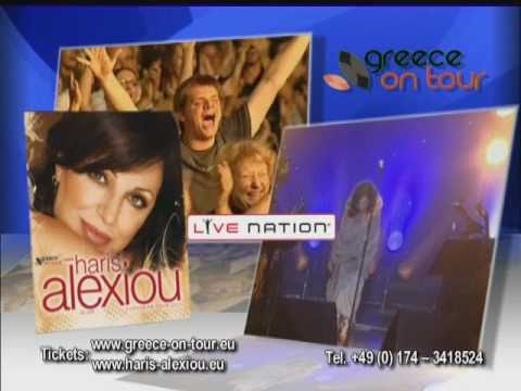 music Haris Alexiou European Tour 2011 - TV Spot