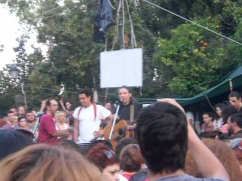 music Αλκίνοος Ιωαννίδης • Σύνταγμα 28.6.2011